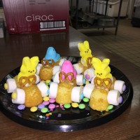 Easter treat bunnies and chicks