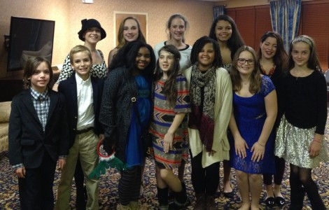 Renee Andersons vocal students