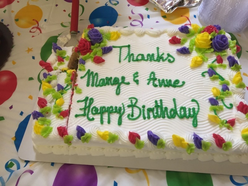 Anne And Marge Celebrate June Birthdays The Fountains At