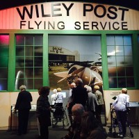 History museum under the wiley post air plane
