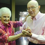Betty and Harry Gilbert celebrating 71 years of marriage.