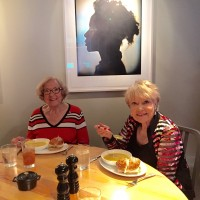 21c-tour-with-sharon-and-gwen-eating-soup-good-pic