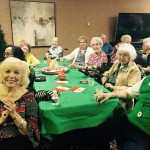 Residents clapping to the music of La Bamba!