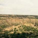 The Palo Duro Canyon, beautiful! It goes way down and beyond!