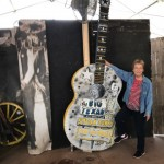 Sylvia's as big as that guitar!