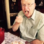 LeeRoy said the French Silk Pie was one of the best he ever had...he loved every bite!