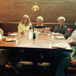 Mable, Wanda, Becky, Anne, Mary, Sheila, & Sue Ann loving the atmosphere!