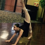 The jazz dances require a lot of gymnastics and flexibility.
