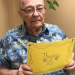 Warren Jones, Inn resident, is sending his thoughts to all of you!
