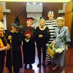 Barbara, Barbara, Glenna, Marge, Chuck, and Martha all dressed up for the party...fun costumes!