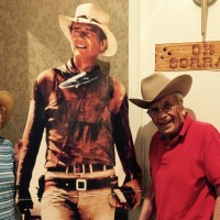 Western theme party 2017 john wayne with warren Schaub