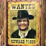 Wife, Karen Petry...also wanted for cattle rustling.