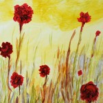 Margorie Whitehair, Poppies