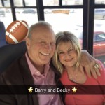 Barry and Becky...he whispered... I need to get my Super Bowl Ring in this picture!