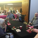Springs residents had more fun tasting all the chocolates and trying the different drinks!
