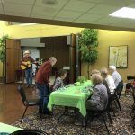 Larry Darnell entertained us with many of Hank Williams tunes.