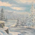 Winter Wonderland by Pegg Alleman, one of our first place winners