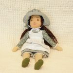 Pioneer Doll, made by Darline Bennett, first place winner.