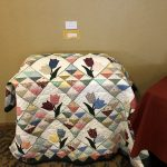 Tulip quilt by Mary Robinson