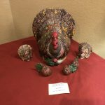 Ceramic turkey by Betty Shroyer