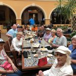 The gang at Abuelo's enjoying a leisurely lunch!