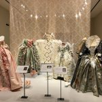 Five of the dresses worn by Queen Elizabeth I.