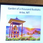 This was a Buddhist Garden in Montana called Garden of a thousand Buddahs.