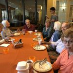 Vegan Breakfast with residents and Marco from Heritage Hall.