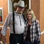 Ray Price, the sheriff, and Becky whose grandfather was sheriff of Pushmataha County for 30 years!