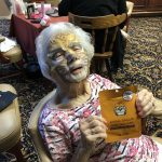 Barbara Keating chose the jaguar face mask and is loving it!