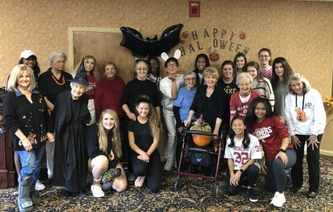 """Adopt a Grandparent"" Halloween Party"